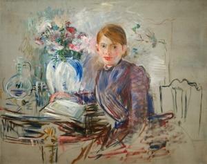 Berthe Morisot Paule Gobillard à la potiche