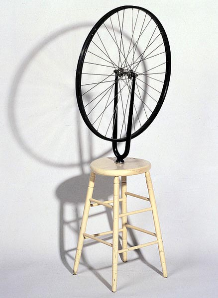 Marcel-Duchamp-ready-made-bicyclette