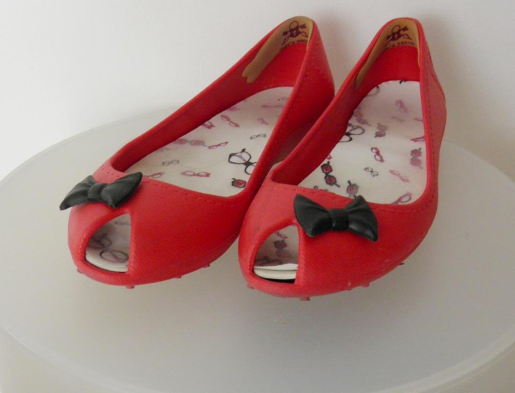 Ballerines rouge Shana