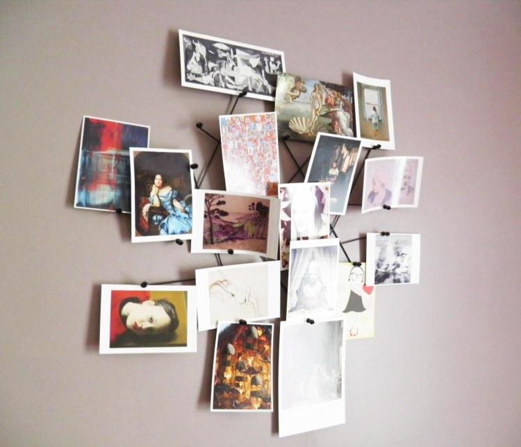 idee-deco-cartes-postales-pele-mele