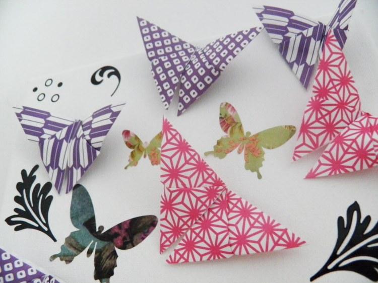 idee-deco-pliage-papier-papillon-origami