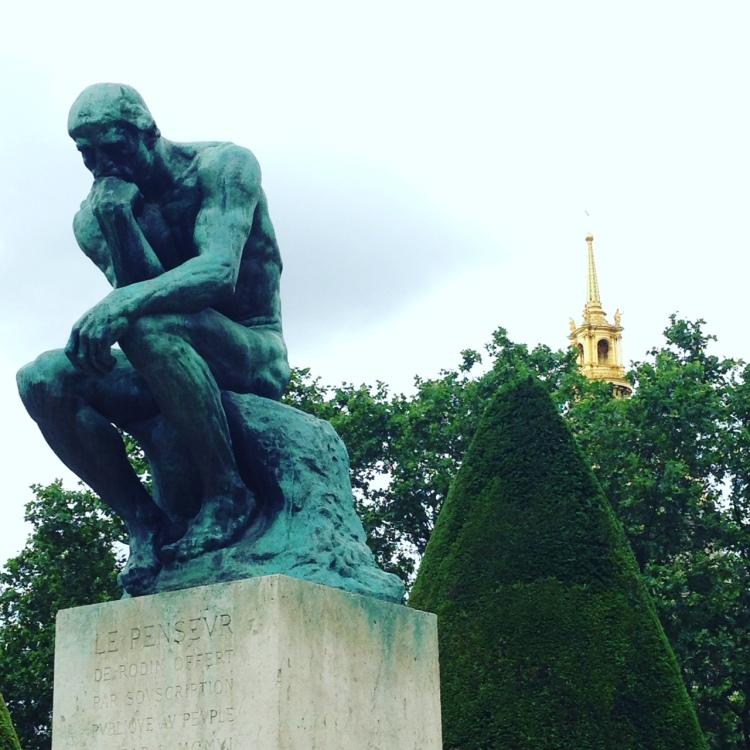 le penseur Rodin paris