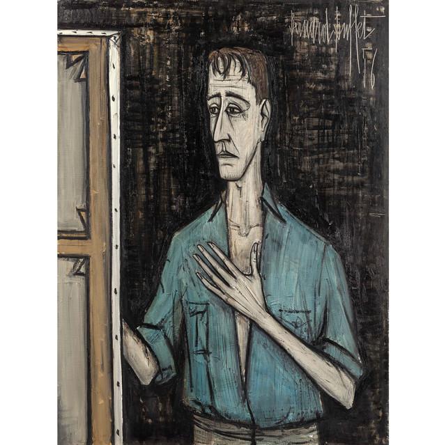 bernard-buffet-autoportrait-jeune