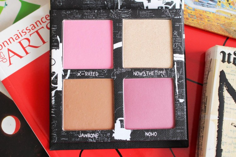 La palette blush Urban Decay X Jean-Michel Basquiat