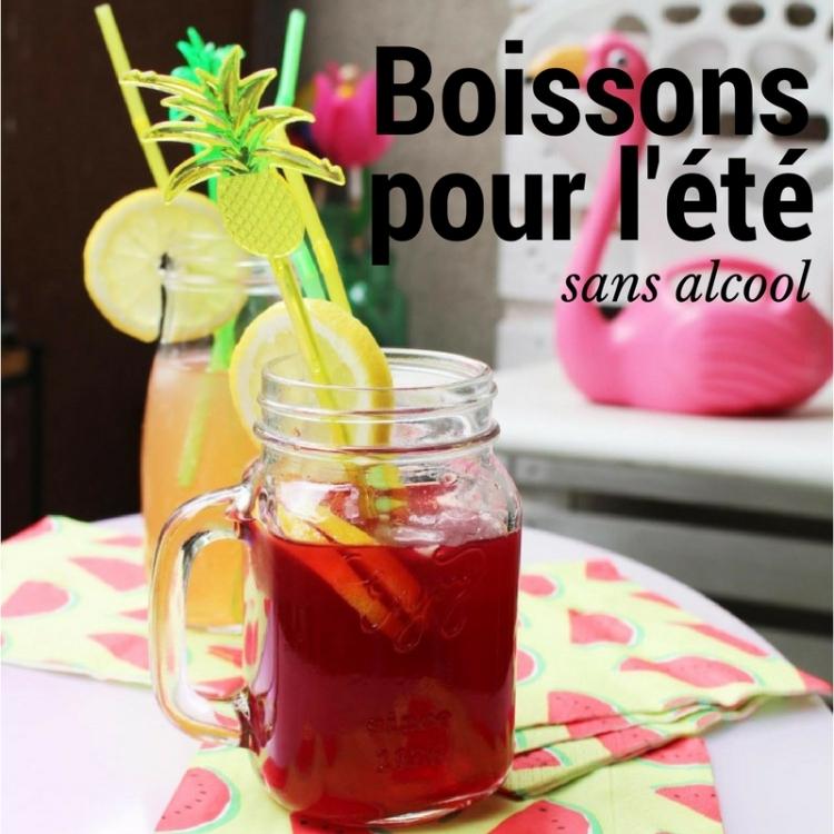Recette 31 2 boissons pour l t sans alcool norma wallace lifestyle - Recette fraiche pour l ete ...