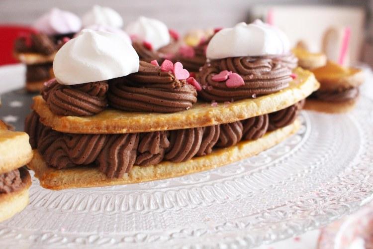 Recette 40 Gâteau Chiffre Sablé Et Chocolat Norma Wallace Lifestyle